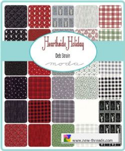 Hearthside Holiday Moda Layer Cake Uk By Deb Strain For